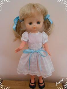 Nancy Doll, Girls Dresses, Flower Girl Dresses, Dolls, Wedding Dresses, Fashion, Baby Sister, Childhood Friends, Dress Patterns