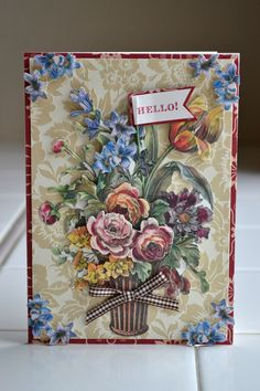 : Anna griffin bouquet die cuts