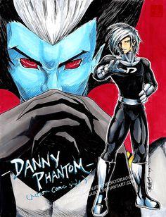danny phantom comic drawing - Google Search