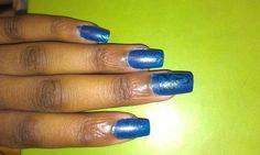 Fall into Atumn nail art challenge Day 3 School spirit.  I did my school logo