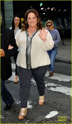 Another plus size role model - Melissa! Can you think of others?  http://slimmingbodyshapers.com/blog/2013/09/01/plus-size-celebrities/