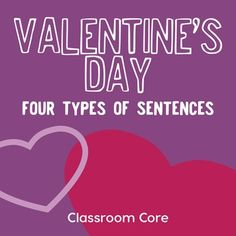 Are you looking for an engaging Valentine's Day activity for your students? Use this as a warm-up or review, or extend it with the included writing prompt for a full class period lesson or sub plan. Students create messages on valentines to practice using the four types of sentences: interrogative, declarative, imperative, and exclamatory.While students learn sentence types in elementary school, they continue to review them in middle school.