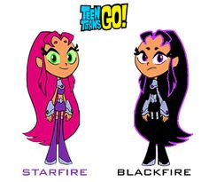 teen titans go blackfire | Teen Titans Go!: Starfire and Blackfire by ~imperial96 on deviantART