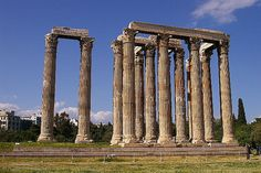 Temple of Olympian Zeus- Athens Greece