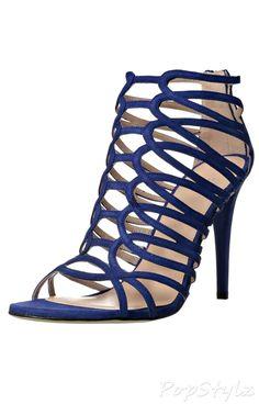 Stuart Weitzman Strappy Leather Dress Sandal