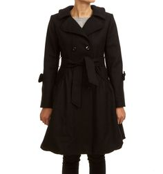 AGNES COAT BLACK via Jascha online store. Click on the image to see more!
