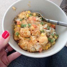 Tator Tot Hot Dish (vegan, gluten free & soy free)