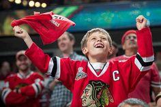 Blackhawks fans ;)