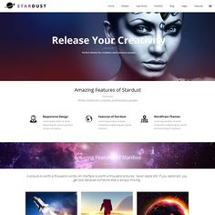 Stardust Portfolio WordPress Theme | Best WordPress Themes 2013