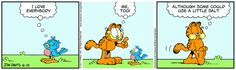 Garfield | Daily Comic Strip on June 10th, 2017