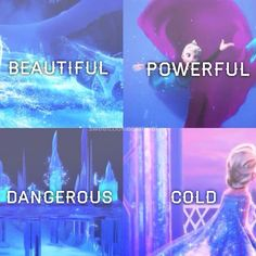 I loved Elsa so much <3 Even though Anna was wonderful, Elsa was just so . . . amazing :)