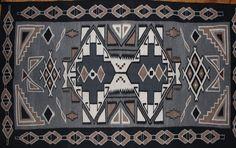 Navajo Rug : Extraordinary Native American Navajo Teec Nos Pos Area Ru – CulturalPatina