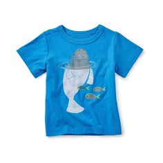 Dugong Graphic Baby Tee - Tea Collection | kids tee shirt | cotton kids clothes | summer clothes | trends | kids trends | ootd