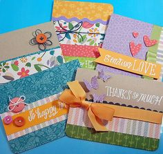 Cards by Lynnette; Bright Side Paper, Grand Greetings