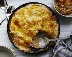 The Quickie Skillet Chicken Pot Pie | Bon Appetit