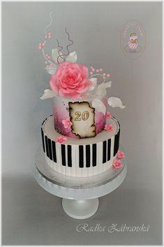 Cake for pianist Cakes, Food, Design, Cake Makers, Kuchen, Essen, Cake, Meals, Torte