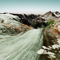 Des représentations imaginaires de chaînes montagneuses - La boite verte