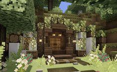 Minecraft Cottage House, Minecraft Small House, Minecraft Garden, Minecraft House Plans, Minecraft Modern, Cute Minecraft Houses, Minecraft House Designs, Amazing Minecraft, Minecraft Tips