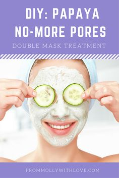 Papaya No-More Pores Double Mask Treatment