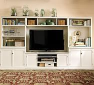 entertainment centers   Pottery Barn