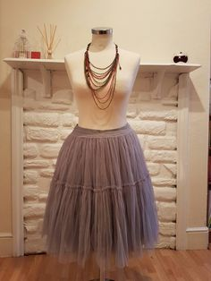 Tulle tutu party..... Absolutely loved transforming a thin layer into this beauty.