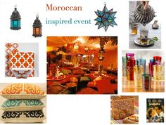 Moroccan Inspired Event