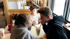 Zach Clayton and Baby Ariel w/ Nick Bean in the Back Charlie Bars And Melody, Zach Clayton, Better Together, Kpop Boy, Couple Goals, Breakup, Relationship Goals, Couple Photos, Amigos