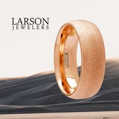Thorsten Corinthian Beveled Edge Flat Tungsten Carbide Ring 12mm Wide Wedding Band with Custom Inside Engraved Personalized from Roy Rose Jewelry