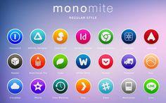 Monomite 超過 680 個扁平化設計圖示免費下載