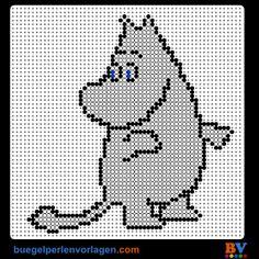 Moomin patroon