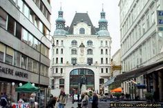 Vienna, city center.