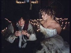 "Toyah Wilcox as Miranda in Derek Jarman's ""The Tempest""."
