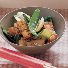 Stir-frying is one of the quickest and easiest methods of cooking. With one pan, a little oil, and constant stirring, you can make a healthful meal.