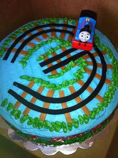 Thomas 3rd Birthday Cake