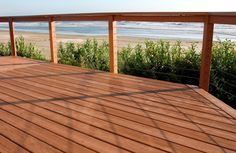 Types of Wood Deck Railing See 100s of Deck Railing Ideas http://awoodrailing.com/2014/11/16/100s-of-deck-railing-ideas-designs/