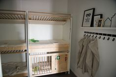 minimam-inrichting-puur-kinderopvang Daycare Nursery, Home Daycare, Church Nursery, Nursery Room, Basement House, Kid Spaces, Creative Kids, Bunk Beds, Playroom