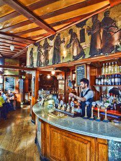 The Black Friar Pub Interior, London