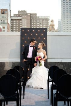 23 Reasons Why the Rooftop Wedding Trend Is Tops | Brit + Co