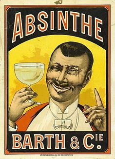 Vintage advertising posters | Absinthe