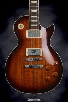 Gibson Les Paul Standard Premium (Desert Burst, Figured Koa ) To Them All
