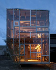 JA+U : Japanese Timber Structures © Shinkenchiku-sha
