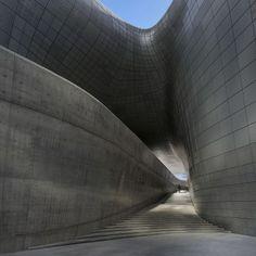 Dongdaemun Design Plaza: Designer: Zaha Hadid Architects Location: Seoul, Korea Area: 86,574 sqm Exterior: 45,000 aluminium panels