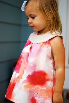 snappy toddler dress tutorial