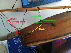 Pond Yacht rigging - Masting, rigging and sails - Model Ship World