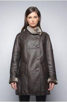 Peau lainée marron femme http://www.prestigecuir.fr