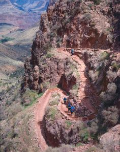 Bright Angel Trail - Grand Canyon - Been here...Done this...Love it!!