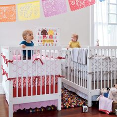 The Land of Nod... An adorable children's furniture & decor website. I would have this if I had twins! :)