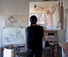 artistandstudio:    Francine van Hove