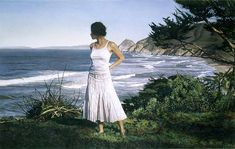 Artifacts Gallery - Beyond the Horizon by:  Steve Hanks  - Water Color Master