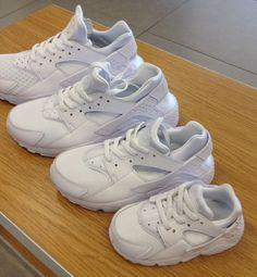 Nike Air Huarache Triple Platinum White Men Youth Toddler Sneaker All Sizes  #NIKE #Athletic